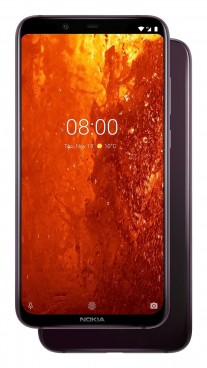 Nokia 8.1 in Steel / Copper