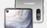 Samsung Galaxy S10 to come with a swipe gesture from the selfie camera