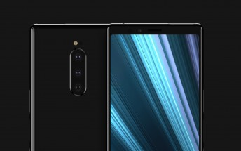 Sony Xperia XZ4 screen protector reconfirms extra tall display