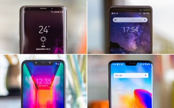 Top 10 fan favorite phones of 2018