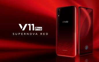 Supernova Red vivo V11 Pro is now official