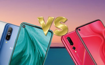 Weekly poll: Huawei nova 4 vs. Samsung Galaxy A8s