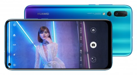 Triple cameras on both, but the Huawei nova 4 has the resolution advantage