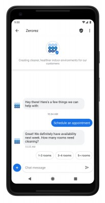 RCS messages can deliver app-like functions