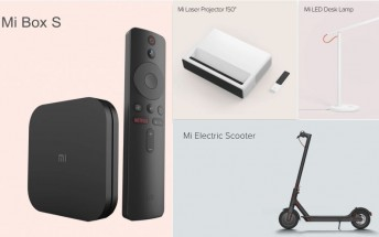 Xiaomi debuts three products in the US