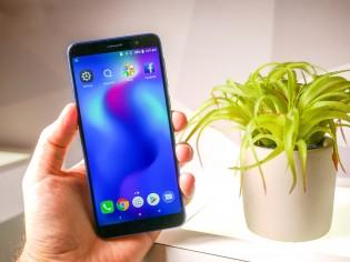 The alcatel 1x (2019) runs Android 8.1 Oreo