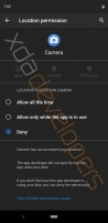 The new permissions menu