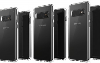 Here's an early look at the Samsung Galaxy S10 lineup