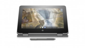 HP unveils rugged Chromebooks for schools with Wacom stylus
