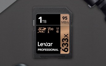 Lexar delivers first 1TB SDXC card, beats pioneer SanDisk