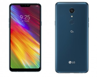 LG Q9 in New Moroccan Blue