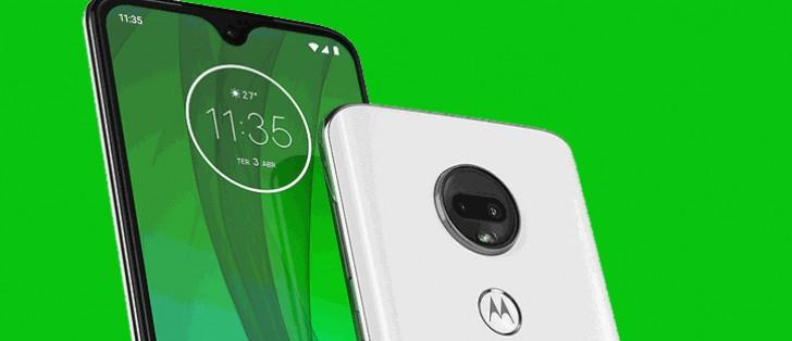 Motorola's website leaks the Moto G7 lineup - GSMArena com news