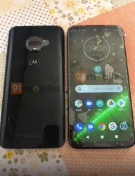 Moto G7 leaked in the wild