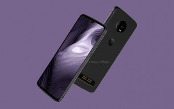 Moto Z4 Play images point at UD fingerprint reader and minimalist notch