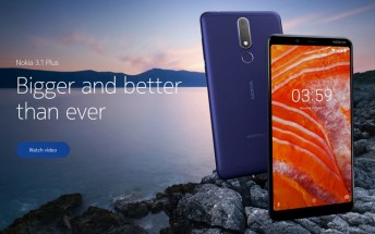 Nokia 3.1 Plus running Android Pie spotted on GeekBench, update imminent