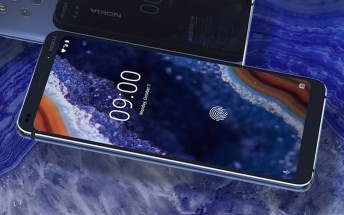 Nokia 9's in-display fingerprint reader will show these animations on unlock