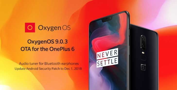 OnePlus 6 gets BT equalizer and camera improvements, OnePlus 5/5T updated too