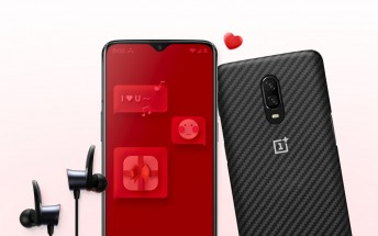 OnePlus reveals Valentine's Day promo bundles featuring the 6T, Bullets Wireless