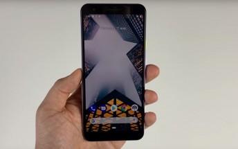 Google Pixel 3 Lite leaks in full in a hands-on video