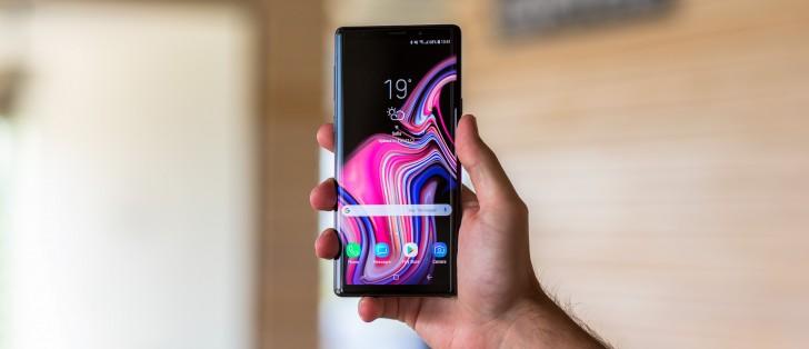 Samsung pushes beta update to Galaxy Note8, updates Pie
