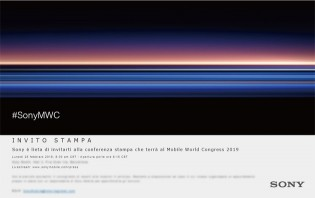 Sony's invites for the MWC event on February 25
