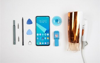 Disassembling vivo NEX Dual Display is tricky business