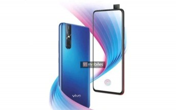 vivo V15 Pro promo poster leaks showing the phone in all its glory