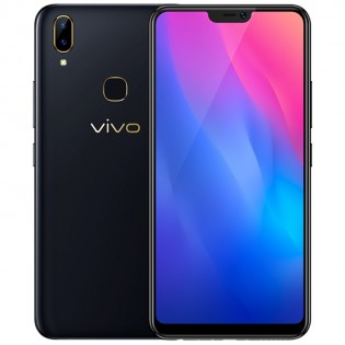 The vivo Y89 in purple and black