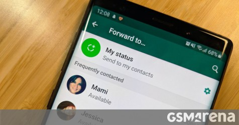 WhatsApp sets limit for forwarding messages - GSMArena com news