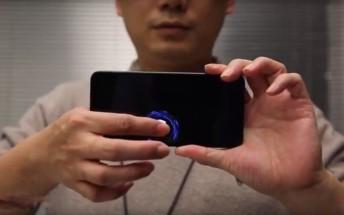 Xiaomi CEO showcases smartphone prototype with next gen UD fingerprint scanner