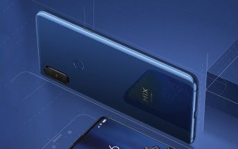 Sapphire Blue Xiaomi Mi Mix 3 is now available