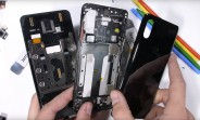 Xiaomi Mi Mix 3 teardown shows the magnets of its unique sliding mechanism