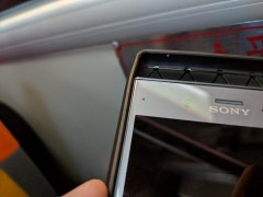 Comparing the size of a Sony Xperia XZ4 case with the XZ Premium