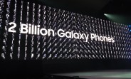 Samsung has sold 2 billion Galaxy phones in nine years