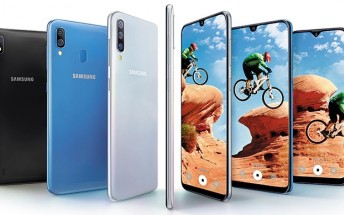 Samsung has set up a landing page for the Galaxy A10, A30 and A50 in India