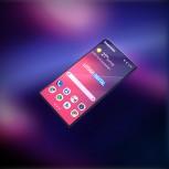 Samsung Galaxy F: folded