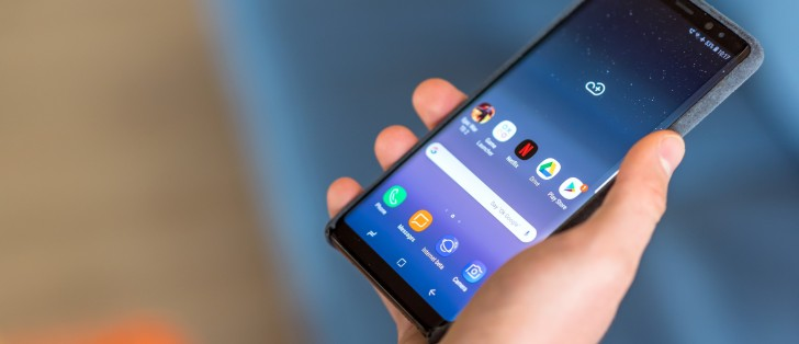 Samsung Galaxy Note8 starts receiving stable Android 9 0 Pie with