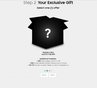 Pre-ordering Option A: the Exclusive mystery box