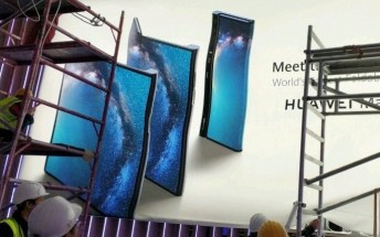 "Huawei's ""Mate X"" foldable phone poster leaks"