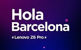 Lenovo Z6 Pro to make an appearance at MWC 2019
