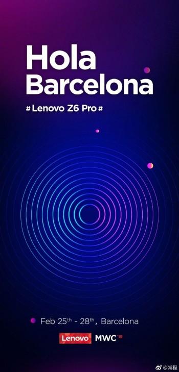 The invitation from the Lenovo VP