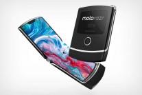 Foldable Motorola Razr concept