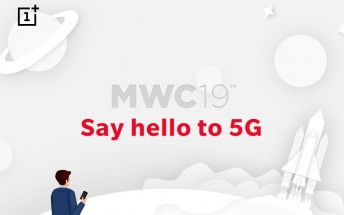 OnePlus at MWC: the 5G phone was teased, it has a 21:9 screen