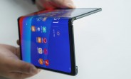 Oppo VP shows foldable prototype - it's the same as the Huawei Mate X