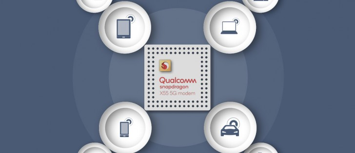 Qualcomm's new X55 modem supports 5G speeds up to 7Gbps, but