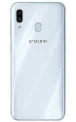 Samsung Galaxy A30 in White