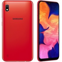 Samsung Galaxy A10 in Red