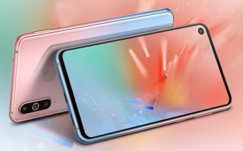 Unicorn Pink is the fifth Samsung Galaxy A8s color