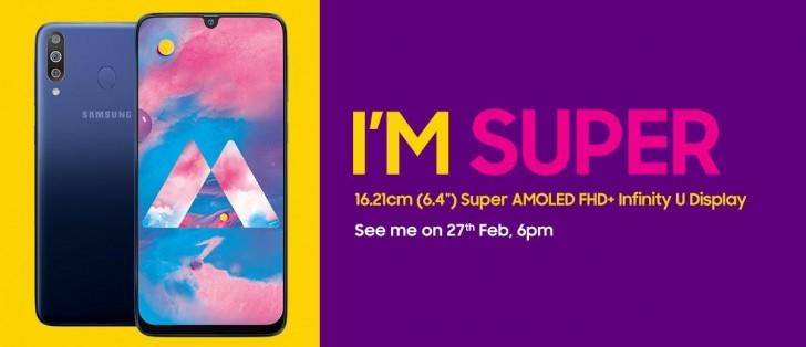 Samsung Galaxy M30 coming on February 27 with 6.4-inch Infinity U Display