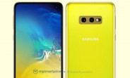 Here's our first look at the Canary Yellow Galaxy S10e